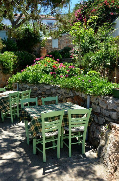Taverna in Attica, Greece