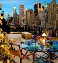 New York balcony with view! | Travel | Pinterest