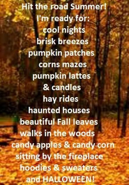 Yes I Am Ready Fall Love