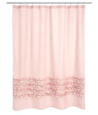 HM light pink shower curtain | H o m e | Pinterest
