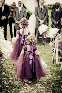 Plum Flower Girl Dress | Stuff that is fun to pin | Pinterest