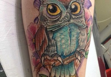 Colorful Tattoo Sleeve Designs