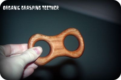 Re-wood Toys Wooden Teether - Grasping $14.95