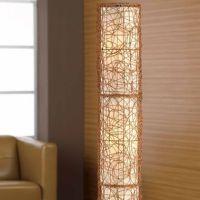 Studio Wicker Floor Lamp - jcpenney | light | Pinterest