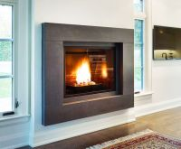 modern fireplace mantels | LR | Pinterest