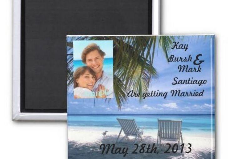 Wedding Magnet Invitations