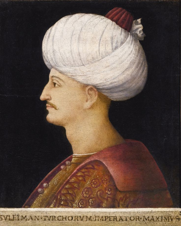 A portrait of Suleyman the Magnificent, by a follower of Gentile Bellini, Italy, probably Venice, circa 1520 | Lot | Sotheby's