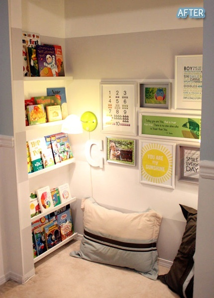 Reading closet