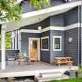 Blue grey paint exterior diy projects pinterest