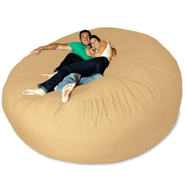 Giant Bean Bag Chair  Dream Home  Pinterest