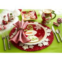 Christmas Place Settings: Oh What Fun | Table Settings ...
