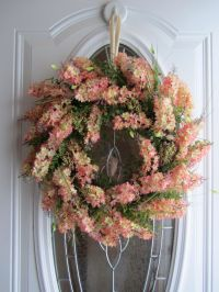 Spring Wreath - Summer Wreath - Front Door Wreath - Spring ...