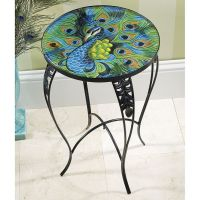 Imperial Peacock Table | Peacock | Pinterest