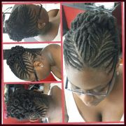 wedding hairstyle. stuffed twist
