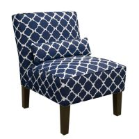 Navy Living Room Chair