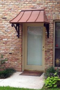 Front door #awning