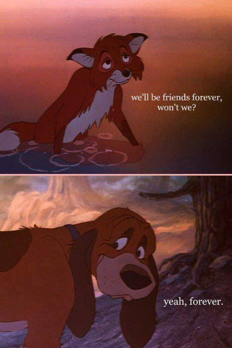 The Fox And The Hound(: