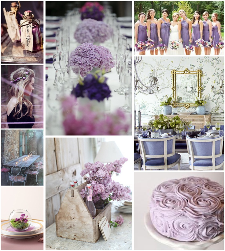 Lavander Wedding Inspiration