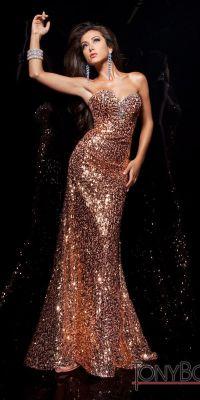 b1b967c489 √ Rose Gold Evening Dresses