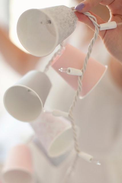 Cup garland