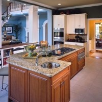 cooktop on island | Kitchen Remodel | Pinterest
