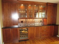 Built in Dining Room Cabinets.
