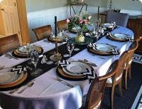 Dining Table: Dining Table Set Up Pictures