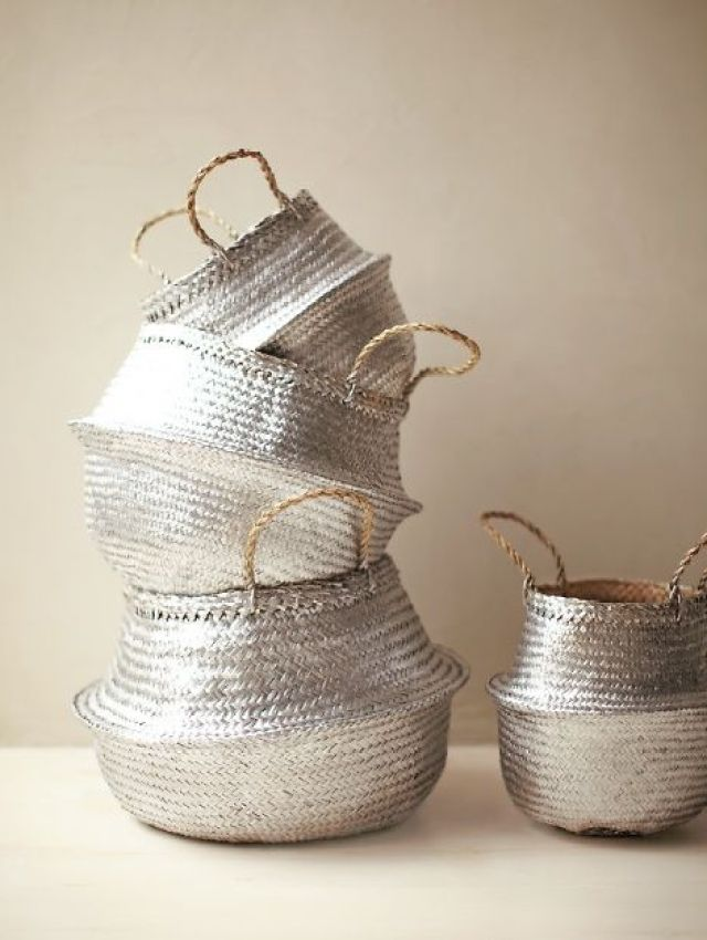 Silver Basket DIY