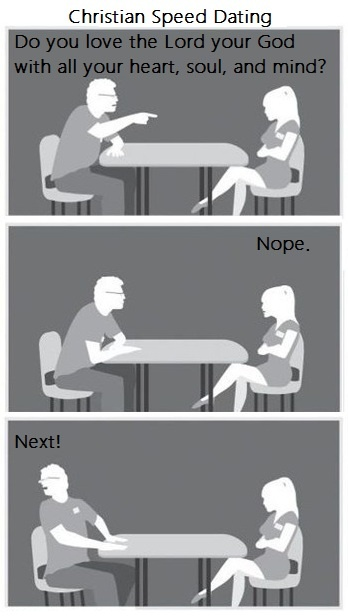 Christian Speed Dating made by #Dannielle Buckley