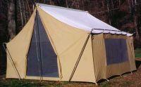 vintage canvas tent | canvas tent | Pinterest