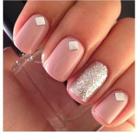 Pretty Simple Nail Designs | Nail Designs, Hair Styles ...
