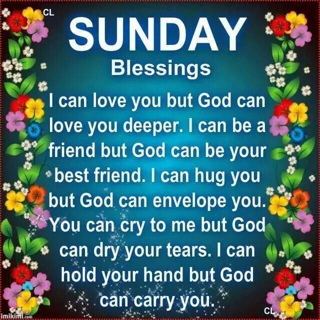 Sunday Blessings And Good Morning Prayers