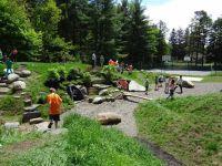 Natural Playground | backyard playground | Pinterest