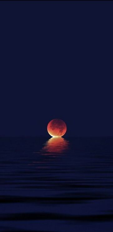 When the Moon Kisses the Sea
