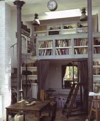 Loft & spiral stairs | everything i love | Pinterest
