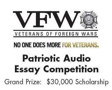 Vfw veterans essay