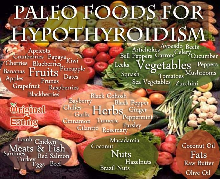 the foods for hypothyroidism and paleo diet at original eating