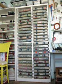 Personal bead Storage cabinet - | Ides studio | Pinterest