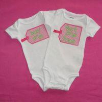Twin Baby Girls Onesie, Buy One Get One