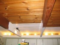 Painting the Evil Wood Ceiling