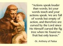St Anthony Of Padua Quotes. QuotesGram
