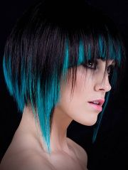 shaggy-funky-and-cool-hair-color-ideas-with-bangs