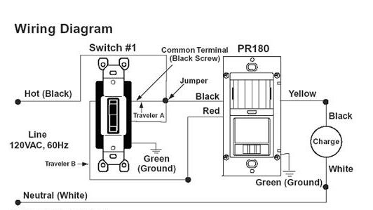 occupancy switch wiring diagram