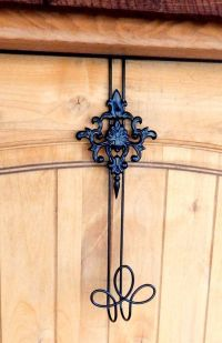 DECORATIVE Wreath Hanger- Front Door Decor-Wreath Door ...
