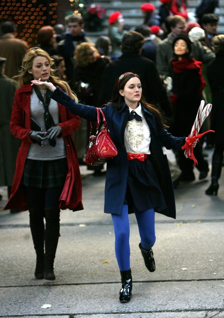 Blair Waldorf and Serena Van der Woodsen uniforms- 1X11