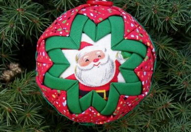 Quilted Ornaments Instructions