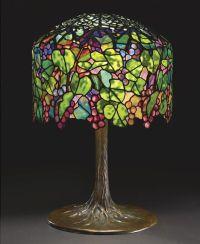 Rare Tiffany Studios Grape table lamp | lamps and lighting ...
