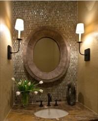 Bathroom Mirror, powder room | For the home | Pinterest
