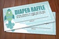 Baby shower idea - Diaper Raffle | baby showers | Pinterest