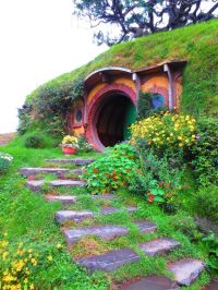 Hobbit House, New Zealand | Hobbit Homes | Pinterest